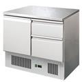 Kühltisch 1Tür 2Schub. 90x70x85