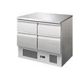 Kühltisch 4Schub. 90x70x85