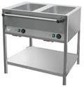 Bain Marie Station 2x1/1GN lang