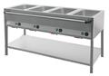 Bain Marie Station 4x1/1GN lang